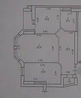 2 комнатная квартира Маршала Говорова, Приморский район
