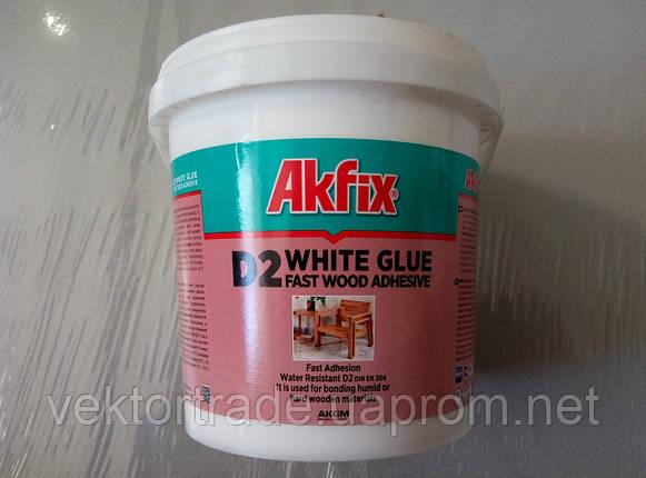 Клей ПВА Akfix D2 (1000гр), фото 2