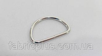 Полукольцо  25 мм  (2,20 мм(d), 14 мм(h), никель