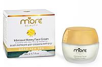 Интенсивный увлажняющий крем с медом и маточным молочком для нормальной и сухой кожи. MORE BEAUTY