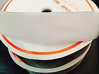 Липучка 5см белая, ширина 25м в рулоне