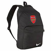 Рюкзак Арсенал, Arsenal, Nike, Найк, черный, ф4595