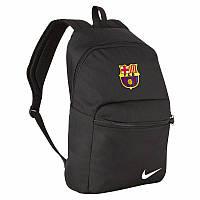 Рюкзак Барселона, Barcelona, Nike, Найк, черный, ф4596
