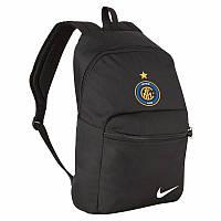 Рюкзак Интер, Inter, Найк, Nike, черный, ф4600