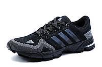 Кроссовки Adidas Marathon TR 21, мужские, текстиль, черные с серым, р. 43