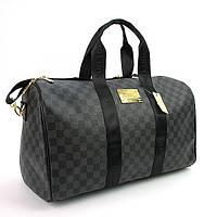 Сумка дорожная кожа PU серая Louis Vuitton 366