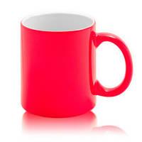 Цветная кружка хамелеон для сублимации Colour Changing Mug, красная