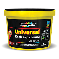 Клей акриловый UNIVERSAL, Kompozit 12кг