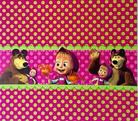 Обертка для шоколадного батончика Маша и Медведь