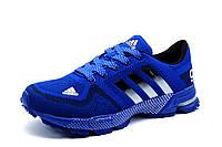 Кроссовки Adidas Marathon TR 21, мужские, текстиль, синие., р. 44 46
