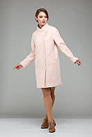 Пальто женское весна 2017 из натуральной шерсти с пряжкой
