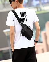 Мужская маленькая сумочка. Модель - 2160, фото 4