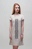 Платье с вышивкой Орнамент