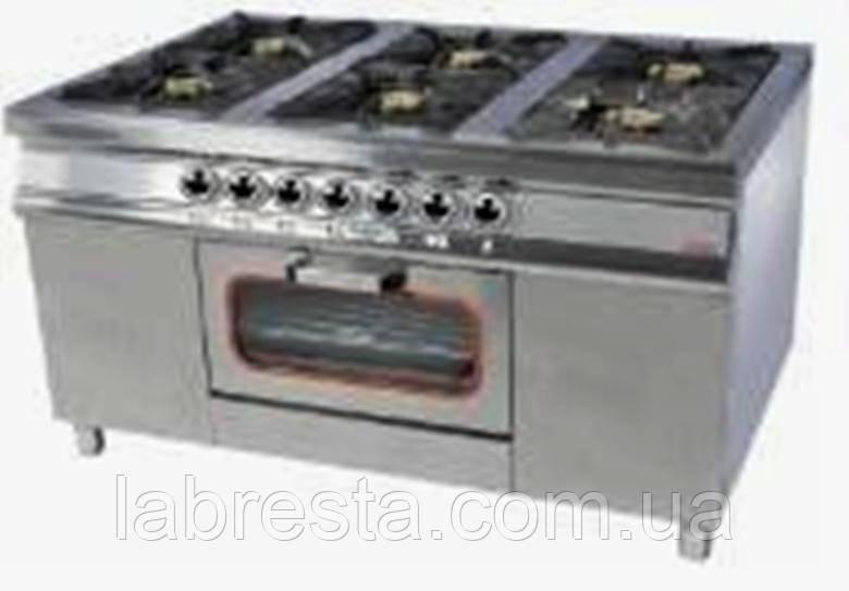 Плита газовая с духовкой Pimak МО15-6 (40х40)
