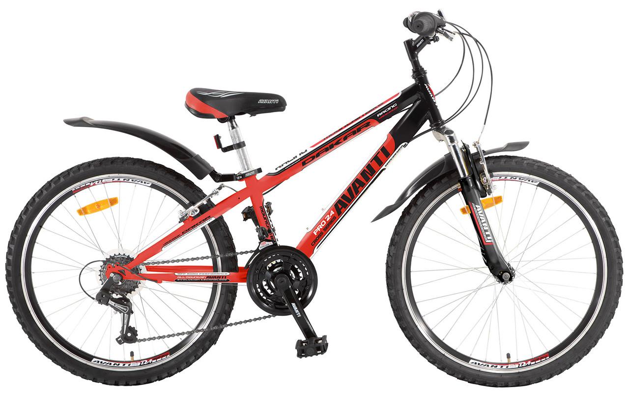 "Велосипед Avanti  DAKAR 24"" STEEL V-BRAKE (2015)"