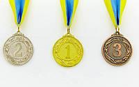 Медаль спортивная VIGOR C-3969. Медаль спортивна