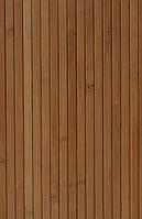 Панель МДФ, бамбук, 12 мм темная ламинированная 0,9х2,7 м