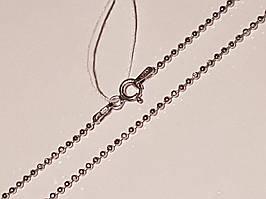 Срібний ланцюжок (Перлина). Артикул 808Р 3/40