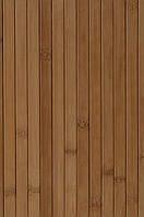 Панель МДФ, бамбук, 17 мм темная ламинированная 0,9х2,7 м