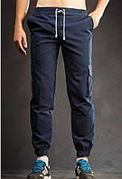 Летние мужские штаны карго Ястребь - Navy Blue (Синий) (Опт и розница), фото 1