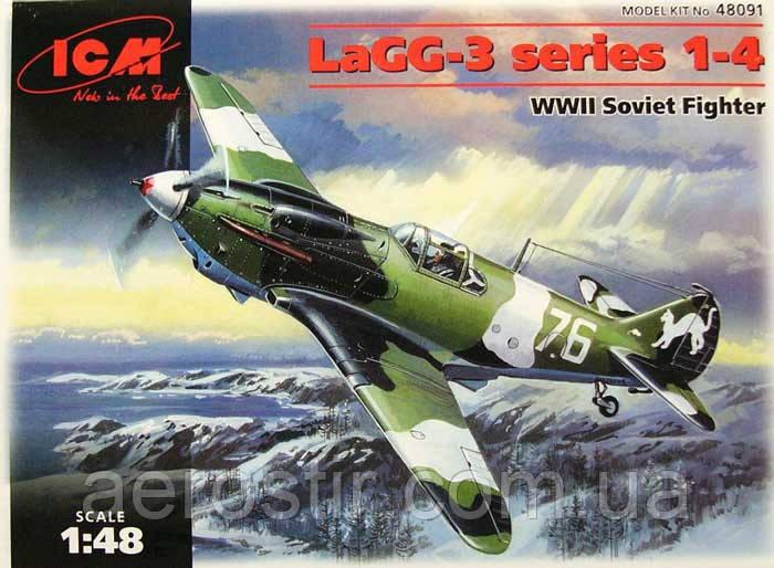 LaGG-3 series 1-4 1/48 ICM 48091