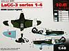 LaGG-3 series 1-4 1/48 ICM 48091, фото 2