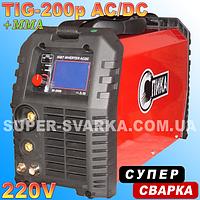 Аргоновая сварка Спика TIG-200p AC DC LED, фото 1