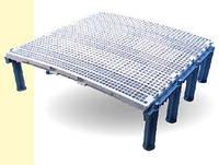 Пластиковый решеточный пол для гусей, 100х100 см, GRINTA EVOLUTION