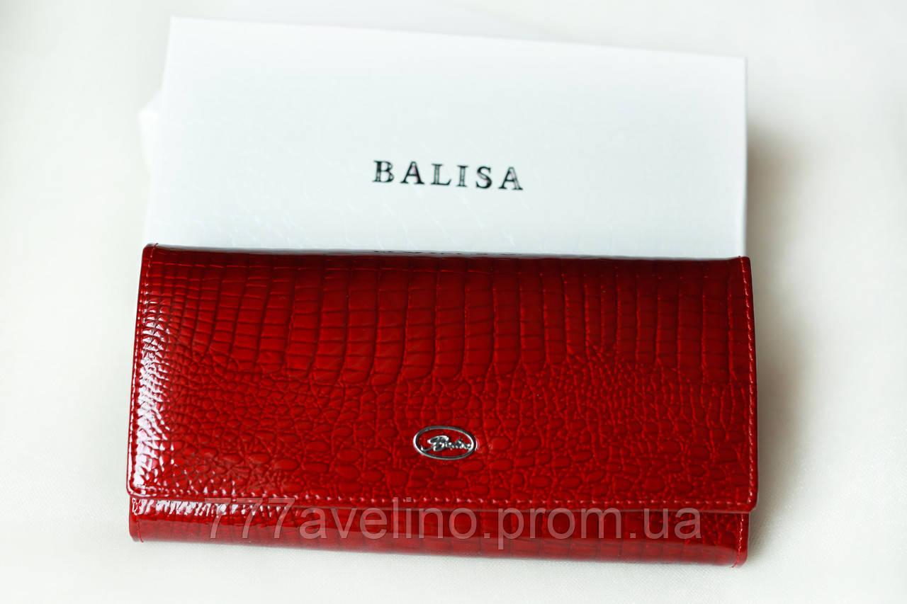 Кошелек женский кожаный лакированный  Balisa 2017
