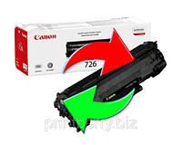 Обмен лазерного картриджа Canon 726