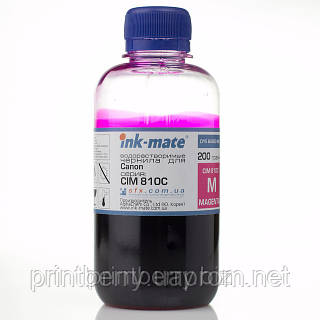 Чернила ink-mate CIM-810, Magenta, 200 г, водные, для Canon