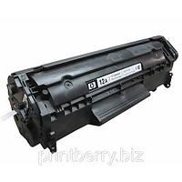 Восстановление лазерного картриджа HP Q2612A (12A)