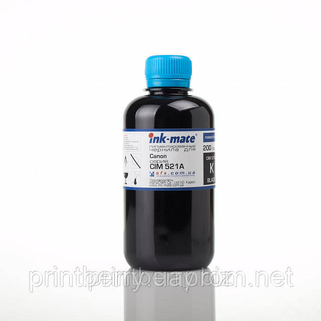 Чернила ink-mate CIM-521, Black, 200 г, пигмент, для Canon