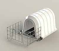 Зимний домик для телят