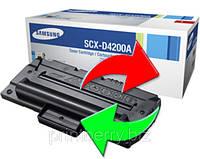 Обмен лазерного картриджа Samsung SCX-4200, 4220 (SCX-D4200A)