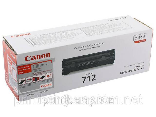 Заправка лазерного картриджа Canon 712