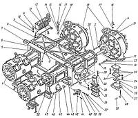 Детали компрессора 4ВМ10-120/9