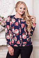 Женская блуза большого размера 50-60 SV 1146