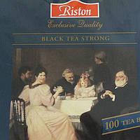 Чай Черный Ирландский Завтрак 100 пакетиков Riston