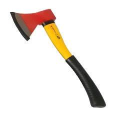 Топор пожарный диэлектрический (резиновая ручка), фото 2
