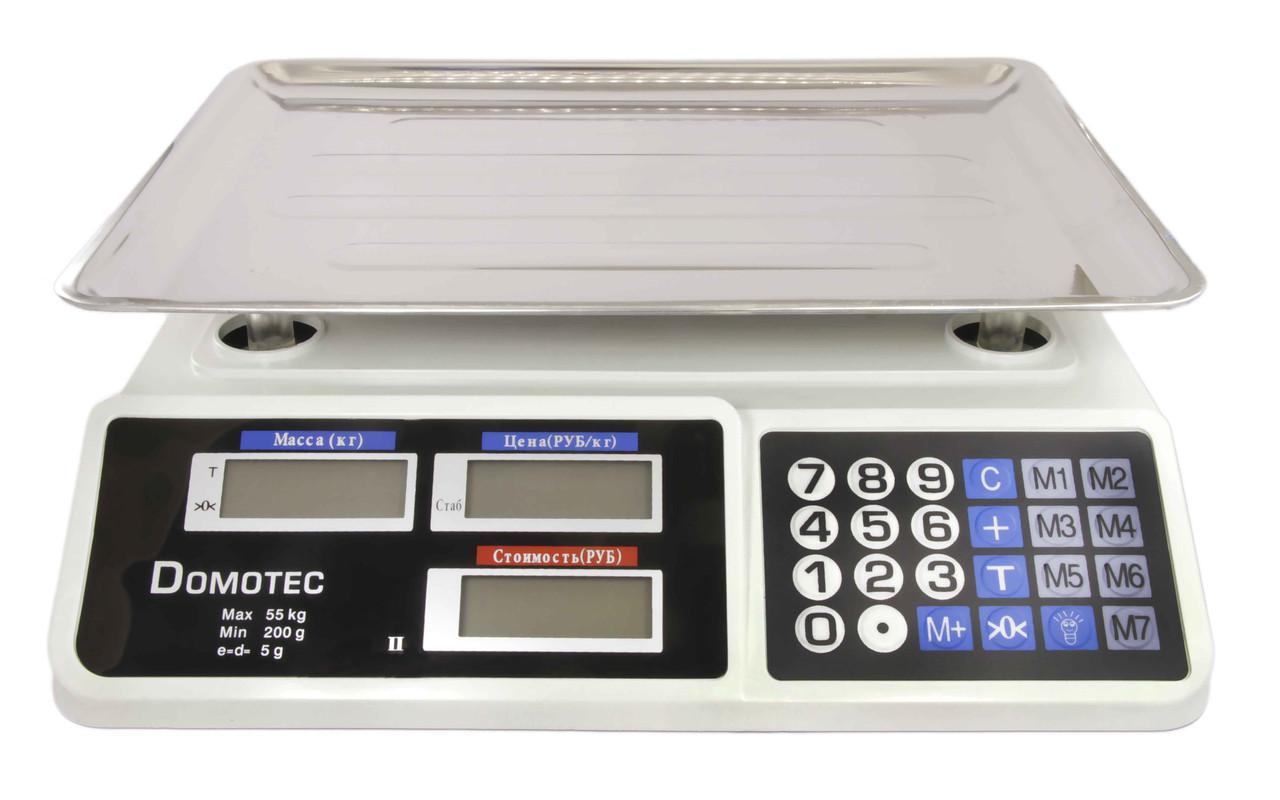 Весы торговые Domotec DT-809