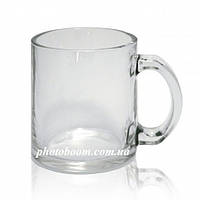 Стеклянная прозрачная кружка для сублимации, G-Mug11