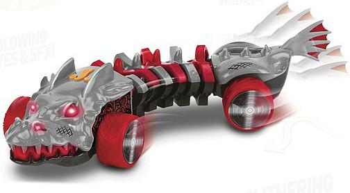 Хот вилс машинка мутант Hot Wheels  Skullface со светом и звуком 32 см, Toy State