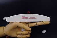 Пилочка минеральная BOHEMA белая ладошка 100/100