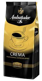 Кофе в зернах Ambassador Crema, 1кг Германия
