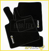 Ворсовые коврики Smart For two (450), Полный комплект, (хорошее качество), Смарт 450