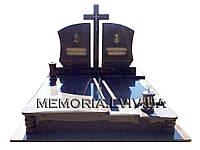 Подвійний гранітний пам'ятник 2128