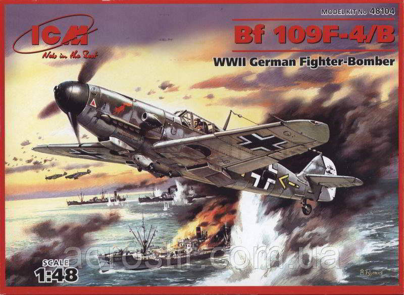 Bf.109F-4B 1/48 ICM 48104