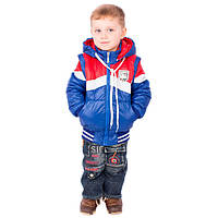 """Демисезонная куртка-жилетка для мальчика """"Арчи"""""""