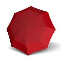 Зонт женский Knirps, Germany, купол 94 см, длина 18 см, красный